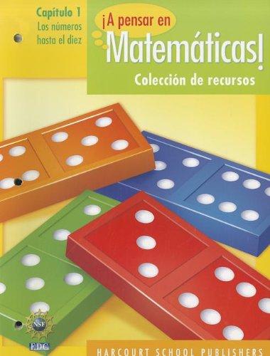 A Pensar en Matematicas!: Capitulo 1: Los Numeros Hasta el Diez