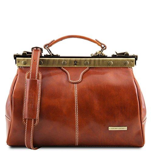 Tuscany Leather - Michelangelo - Borsa medico in pelle Miele - TL10038/3