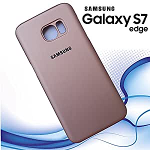 Branded Ultra Thin Perfect Fit Protective Back Cover for Samsung Galaxy S7 Edge - Rose Gold