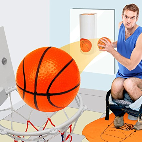 Basketball-mini-kit-pour-toilette-WC-cadeau-basketball