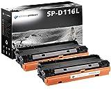 2 Schneider Printware Toner  je 4800 Seiten | 60 Prozent mehr Druckleistung | kompatibel,  als Ersatz für MLT-D116L MLT-D116S für Samsung Xpress M2625, M2625D, M2675FN, M2820DW, M2825DW, M2825ND, M2835DW, M2875FD, M2875FW, M2875ND, M2885FW
