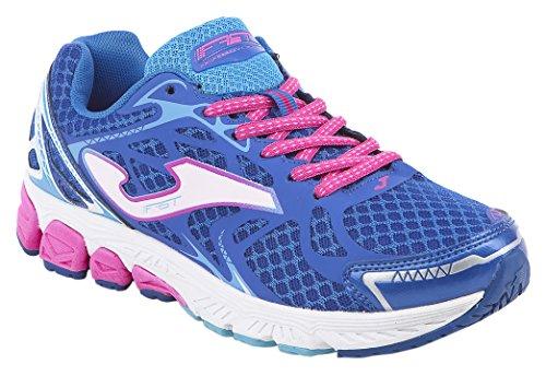 Joma Fast Lady - Scarpe da Running da Donna, Colore Azzurro. Taglia 38