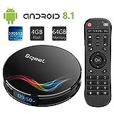 Bqeel 2019 Android 8.1 TV Box Y4 MAX / Amlogic S905X2 Quad Core / 4G DDR4+64G eMMC / Dual...