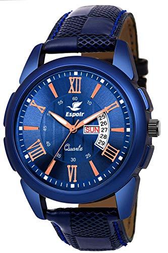 Espoir Analog Blue Dial Men's Watch-ES-81940 1