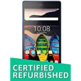 (Certified REFURBISHED) Lenovo Tab 3 730X Tablet (7 inch, 16GB, Wi-Fi + 4G LTE + Voice Calling), Black-Blue