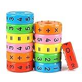 Kesote 2 Stück Mathe Montessori Rechnen Spielzeug Mathematik Lernspielzeug für Kinder