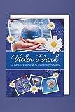 Jugendweihe Danksagungen Karte 5er Mehrstückpackung Weltkugel in Händen Vielen Dank 5 Doppel Karten 15 x 11cm