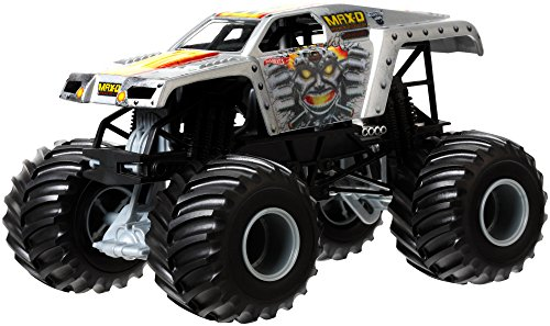 Jam-trucks Monster Diecast 24 1 (Hot Wheels CBY61 - Off-Road Monster Jam BGH27-0718 MAX-D Maximum Destruction 1:24)