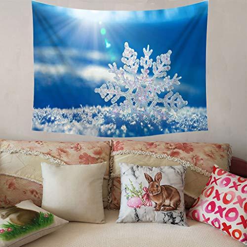 Higlles Weihnachtsmann Wandteppich Psychedelic Weihnachten Wanddekoration 150x200 cm Wandbehang Schlafzimmer Wohnzimmer Wandteppiche(9 Arten)