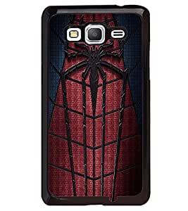 Printvisa Spider Man Web Back Case Cover for Samsung Galaxy Core Prime G360
