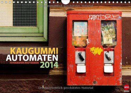 Kaugummi-Automaten Planer (Wandkalender 2014 DIN A4 quer): Praktischer Planer mit ungewöhnlichen Motiven (Monatskalender, 14 Seiten)
