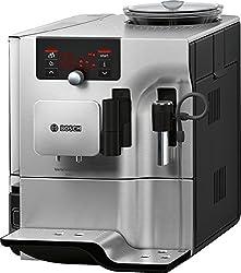 Bosch TES803M9DE Kaffeevollautomat Vero Selection 300 (1600 W, OneTouch Funktion, Cappuccinatore) edelstahl/hochglanz anthrazit