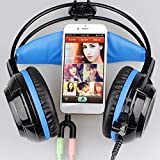 3,5 mm Klinke Audio Mikrofon Headset Adapter Mini Stecker Stecker auf Doppel Weibliche Connect Für Laptop Handy
