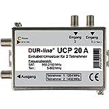 Dur-line UCP 20 A Unicable/Einkabellösung (für 2 Teilnehmer über 1 Kabel) Funktion wie Stacker-Destacker