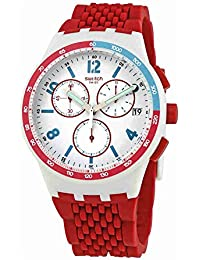 Swatch Red Track Chronograph SUSM403