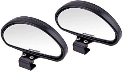 Vmoni Set of 2 Adjustable Car Mirror universal Rear View (up to 2.5X) Blind Spot Mirror
