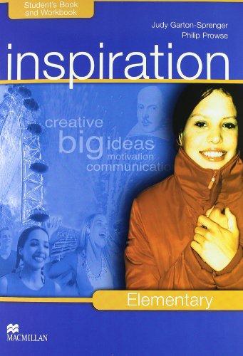 Inspiration. Elementary. Student's book-Workbook-Extra book. Per le Scuole superiori. Con CD Audio. Con CD-ROM