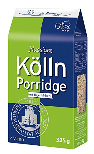 Nussiges Kölln Porridge, 7er Pack (7 x 325 g)