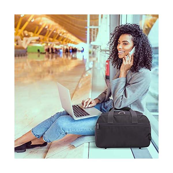 51o4uZ1rk4L. SS600  - Aerolite noviembre Nuevo Ryanair 40x20x25 Tamaño máximo de la Cabina del Equipaje del Bolso Bolso de Viaje de Vuelo…