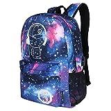 DOLIROX Cool Boys Girls Outdoor Backpack Anime Luminous Backpack Daypack Shoulder School Bag