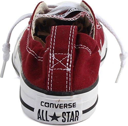 Converse, Sneaker uomo Nero Mattonella rossa