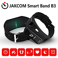WEIDE - Smartwatch e Bluetooth auricolare 4.0 Bluetooth Earphone per iPhone/Huawei/Sony/Wiko/Samsung/Android Smartphone Braccialetto Fitness Smart Sport Band, Smart Bracelet