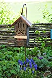 Insect Hotel Dual Combo Holder with Metal...
