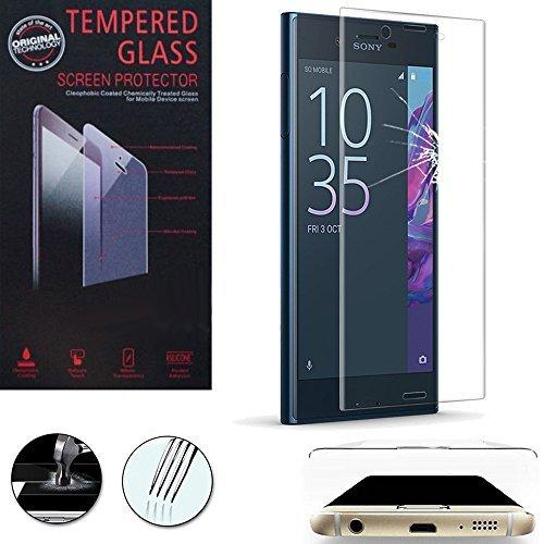 Annart 1 Teil Folie Sicherheitsglas Rand Gebogen Robust für Sony Xperia Xz / Xzs 5.2