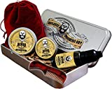 Best Beard Treatments - Mens Grooming Gift Box Kit, Traditional Beard Oil Review