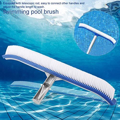 TianranRT❄ Schwimmbadbürste,Wasserbeständige Aluminium-Schwimmbadbürste Mehrfarbige Reinigungsprodukte (Uhr Wels)