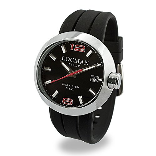 Locman Locman Italy Men's Watch Uomo Black Ref 042200