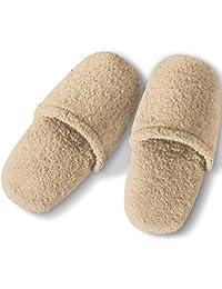 Chaussures Pantoufles Blanches Âne / Serviette / Chaussure Douche Homme Lisse 100% La Taille De L'éponge De Coton 46, Chaudière De Couleur