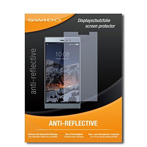 SWIDO Schutzfolie für Switel eSmart M3 [2 Stück] Anti-Reflex MATT Entspiegelnd, Hoher Härtegrad, Schutz vor Kratzer/Bildschirmschutz, Bildschirmschutzfolie, Panzerglas-Folie