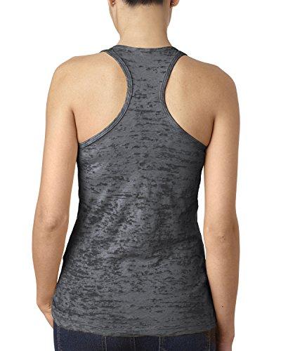 Next Level - T-shirt de sport - Femme Gris - Gris foncé