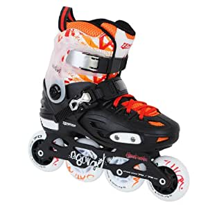 Rollers freestyle TEMPISH COCTAIL junior - ajustables 4 pointures - taille M(34 à 37) ,skatepark & slalom