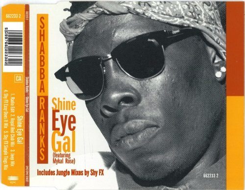 Preisvergleich Produktbild Shine eye gal ( 6622332,  5 versions,  1995,  feat. Mykal Rose)