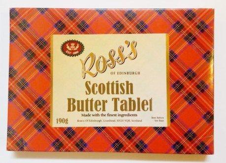 Scottish Butter Tablet Tartan Gift box 190g