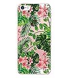 Qissy Cover iPhone 5/5S/SE Custodia Custodia TPU Trasparente silicone Crystal Ultra Sottile Cassa per Apple iPhone SE 5S 4.0'' Case Cover (88)