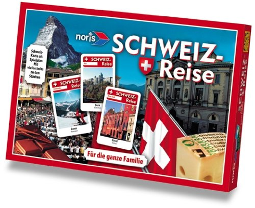 Preisvergleich Produktbild Noris Spiele 607904593 - Schweiz Reise
