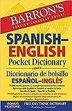 Barron's Spanish-English Pocket Dictionary (Barron's Pocket Bilingual Dictionaries)