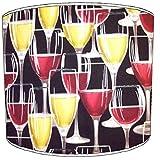 8pulgadas techo vintage y retro Copas de cerveza y botella de vino Tulipa de lámpara 4, 30,5 cm