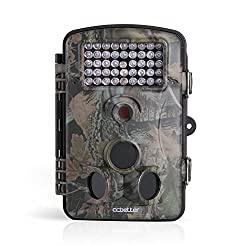 High Quality Wildlife Hunting Camera - 12 MP 1080P Animal Surveilance Trail Camera | Best HD Game - Trail Camera with 120 Degree Wide Angle - Infrared Night Vision - ccbetter