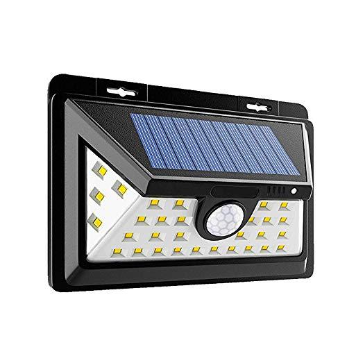 solarbetriebene Lampen für draußen (LED /34*SMD 2835), wasserfeste IP65 Solarlichter mit 120 Grad-Weitwinkelbewegungssensor für den Garten, die Terrasse, die Beleuchtung von Gehwegen