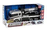 Teamsterz Camion di polizia / rimorchiatore con effetto sonoro luce veicolo giocattolo per bambini ragazzi