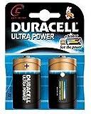 Duracell Batterien Ultra Power Alkaline Baby LR14 C, 1,5V Schwarz