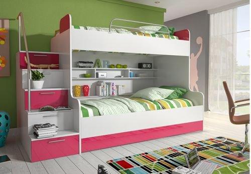 Etagenbett Abc : ᑕ❶ᑐ hochbett mit treppe ▻ bestseller für ihr schlafparadies