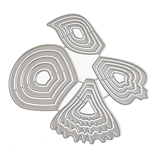 SuliforStanzschablone Scrapbooking Neue Blume Herz Metallform Schimmel DIY Scrapbook Album Papierkarte