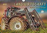 Landwirtschaft - Hightech und Handarbeit (Wandkalender 2019 DIN A4 quer): Die Arbeit mit landwirtschaftlichen Maschinen auf dem Bauernhof. (Monatskalender, 14 Seiten ) (CALVENDO Technologie)