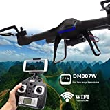 Yacool ® Nighthawk Dm007w Wifi Real-time 2.4g Newest Rc Quadcopter Drone UAV RTF UFO with FPV Camera by Yacool