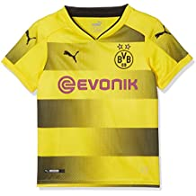 Puma BVB Local Temporada 2017/2018 Camiseta, Niños, Amarillo, ...